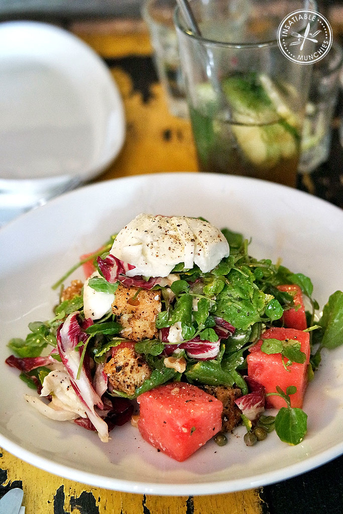 watermelon and apricot salad