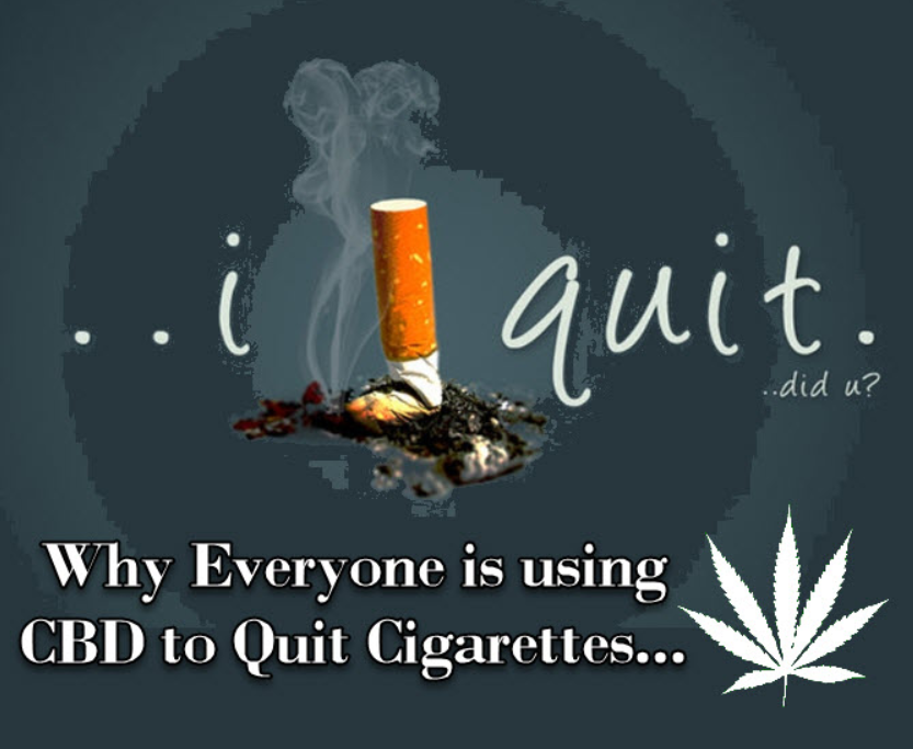 CBD helps quit smoking