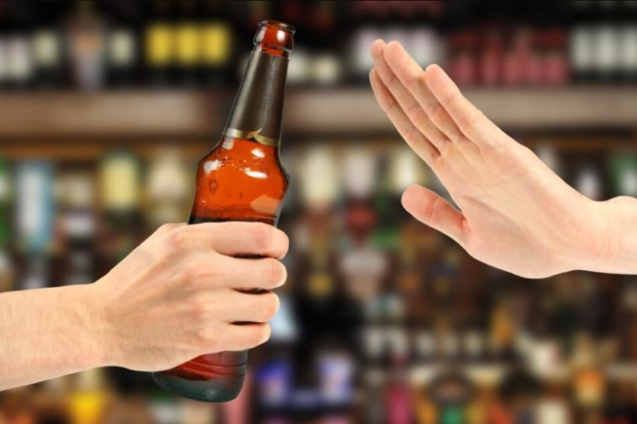 CBD helps withdrawal alcohol