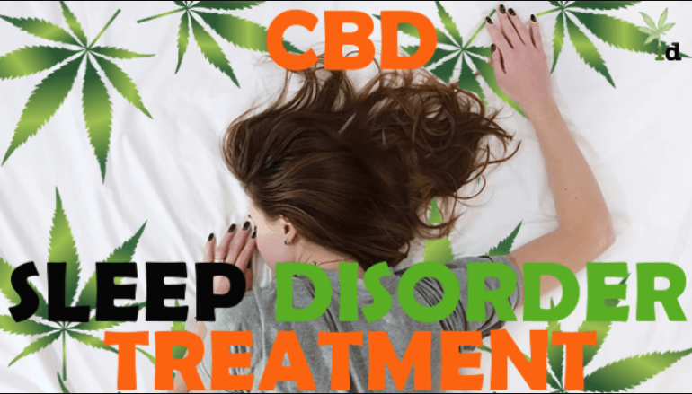 CBD treats insomnia